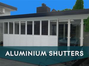 Aluminium shutters in Spain