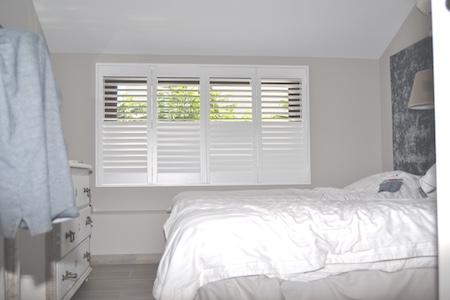 Bedroom shutters | shuttersinspain.com