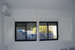 Bedroom shutters in Spain