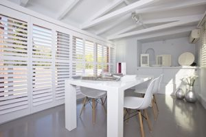 Living Room Shutters in Spain