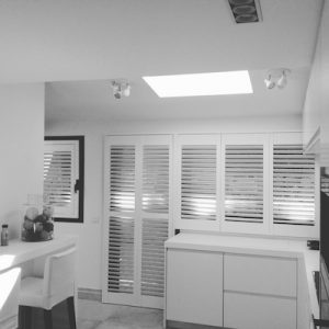 Kitchen shutters in Spain