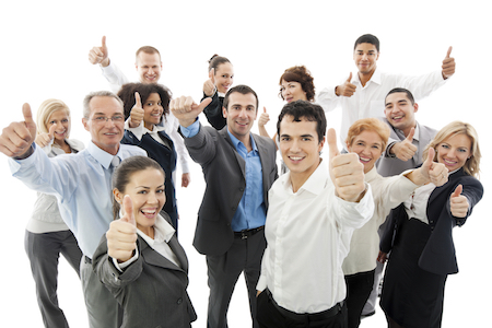 Group of a happy Business People Showing Thumbs Up.  [url=http://www.istockphoto.com/search/lightbox/9786622][img]http://dl.dropbox.com/u/40117171/business.jpg[/img][/url]