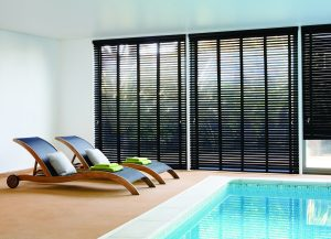 Pool blinds in Spain