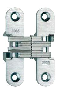 flush mounted hinge