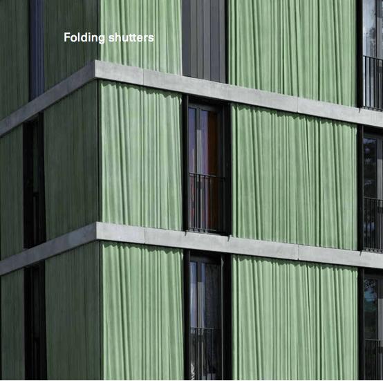 Aluminium Folding Shutters